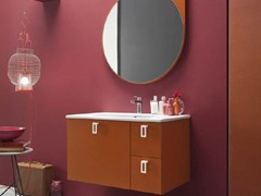 - Lacquered single vanity unit E.LY - COMPOSITION 52 - Arcom