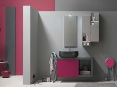 - Bathroom cabinet / vanity unit E.LY - COMPOSITION 54 - Arcom