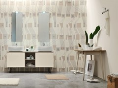 - Double lacquered vanity unit E.LY - COMPOSITION 57 - Arcom
