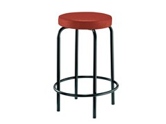 - Upholstered stackable stool EASY | Upholstered stool - Mara