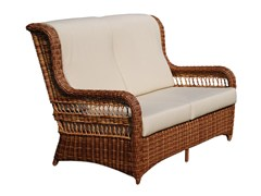 - Divano da giardino a 2 posti con schienale alto EBONY 22002 - SKYLINE design