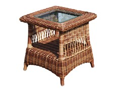 - Tavolino basso da giardino quadrato EBONY 22005 - SKYLINE design