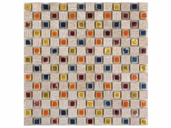 - Marble mosaic BOITE - CONTEMPORARY BOX - EBRIL - Lithos Mosaico Italia - Lithos