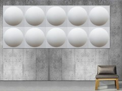 - Decorative acoustical panels ECOROUND | Decorative acoustical panels - Slalom