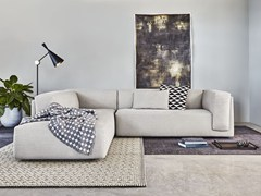 - Corner sectional upholstered fabric sofa EDGE | Corner sofa - Montis