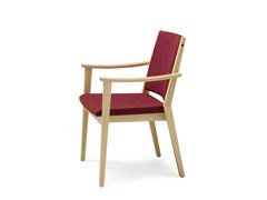 - Fabric chair with armrests EDWARD | Chair with armrests - Wiesner-Hager