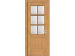 Porta a battente in legno e vetroEFFIGIES 61T6 ROVERE MIELE - GD DORIGO