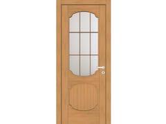 Porta a battente in legno e vetroEFFIGIES 81T1 ROVERE MIELE - GD DORIGO