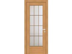 Porta a battente in legno e vetroEFFIGIES 41T1 ROVERE MIELE - GD DORIGO