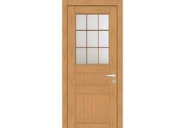 Porta a battente in legno e vetroEFFIGIES 78T1 ROVERE MIELE - GD DORIGO