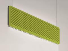 Baffle acustici in tessuto con illuminazione integrataEGGBOARD | Baffle acustici con illuminazione integrata - ARTEMIDE