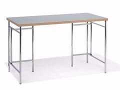 - Rectangular linoleum writing desk EIERMANN® 3 | Writing desk - Richard Lampert