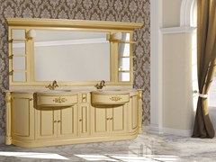 - Double vanity unit with mirror ELBA CM14E - LA BUSSOLA