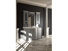 - Lacquered vanity unit with mirror ELBA CM16E - LA BUSSOLA