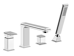 - 4 hole bathtub tap ELEGANZA BATH 46037 - Gessi