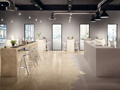- Indoor porcelain stoneware wall/floor tiles ELEMENTS LUX CREMA BEIGE - CERAMICHE KEOPE