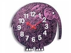 - Wall-mounted kids clock ELIHU THE ELEPHANT - Vitra