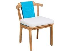 Sedia da giardino in Batyline®ELK | Sedia da giardino - 7OCEANS DESIGNS