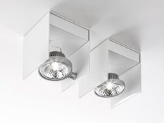 - Adjustable ceiling metal spotlight ELLE | Ceiling spotlight - PANZERI