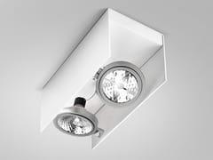 - Adjustable ceiling metal spotlight ELLE | Spotlight - PANZERI