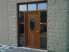 - Glass and aluminium door panel ELLISSE/X1 - ROYAL PAT