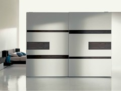 - Lacquered wardrobe with built-in TV EMOTION BASIC - Fimar