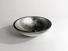 - Countertop round washbasin EMY - Flora Style