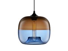 - Lampada a sospensione a LED fatta a mano in vetro soffiato ENCALMO-STAMEN - Niche Modern