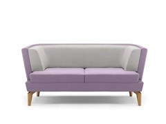 - Upholstered 2 seater sofa ENTENTE | 2 seater sofa - Boss Design