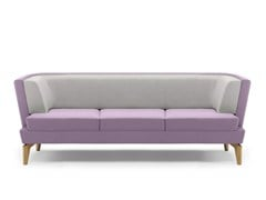 - Upholstered 3 seater sofa ENTENTE | 3 seater sofa - Boss Design