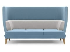- Upholstered 3 seater high-back sofa ENTENTE | High-back sofa - Boss Design