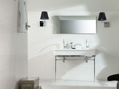 - Console washbasin with towel rail EPOQUE | Double washbasin - Systempool