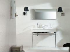 - Lavabo a consolle con porta asciugamani EPOQUE | Lavabo doppio - Systempool
