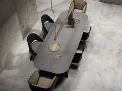 Top cucina / piano per tavoliEQUINOX - APAVISA PORCELÁNICO