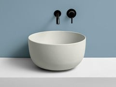 Lavabo da appoggio rotondo in ceramicaERA - CERAMICA CIELO