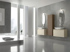 - Bathroom cabinet / vanity unit ESCAPE - COMPOSITION 17 - Arcom