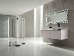 - Single wall-mounted vanity unit ESCAPE - COMPOSITION 18 - Arcom