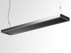 - Indirect light fluorescent aluminium pendant lamp ESPRIT | Indirect light pendant lamp - Artemide