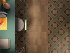 Pavimento/rivestimento in gres porcellanato effetto legnoESSENCES WALNUT - CERAMICHE MARCA CORONA