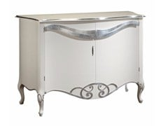 - Lacquered solid wood sideboard ESTER | Sideboard with doors - Arvestyle
