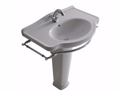 - Ceramic washbasin with towel rail ETHOS 75 | Washbasin - GALASSIA