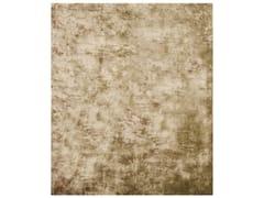 - Handmade rectangular rug ETHYLENE GOLD - HENZEL STUDIO