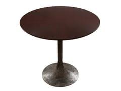 - Round wooden table ETNA | Wooden table - Hamilton Conte Paris