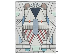 Tappeto fatto a mano a motivi geometriciEULERO OUTLINE - CC-TAPIS ®