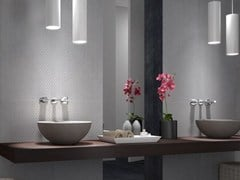 - Laminated stoneware wall tiles EXPERIENCE 0.3 DECORS - Panaria Ceramica
