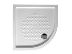 - Corner built-in extra flat shower tray EXTRATHIN CORNER - Alice Ceramica