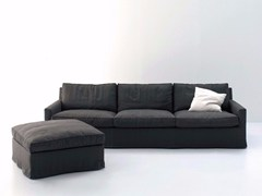 - Upholstered 3 seater fabric sofa with removable cover COUSY | Fabric sofa - arflex