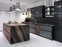 - Kitchen with island without handles FACTORY | Kitchen with island - Aster Cucine