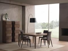 - Square solid wood table FASHION | Square table - Pacini & Cappellini