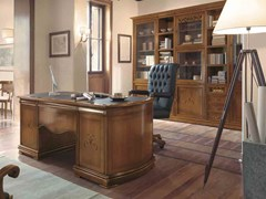 - Solid wood writing desk with drawers FENICE | Executive desk - Arvestyle